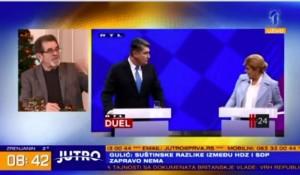 Jutro: Milanović ili Grabar Kitarović, Hrvatska danas bira predsednika, 5.1.2020. Foto: screenshot