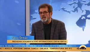 Izbori za predsednika Hrvatske i kohabitacija: Savo Štrbac, 16.01.2020. Foto: screenshot