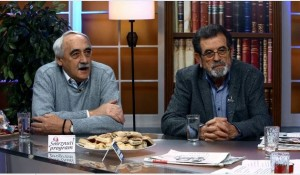 Happy.tv, Juptarnji program: Savo Štrbac i Milojko Budimir Foto: screenshot