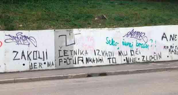 Split: Novi grafit na ulicama Foto: DalmatinskiPortal