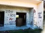 Banski Grabovac ustaški grafiti spomenik Foto: Srbi.hr