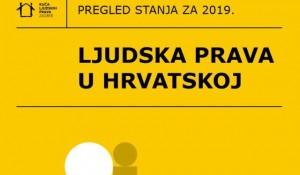 Ljudska prava u Hrvatskoj 2019. Foto:Kuća ljudskih prava HR, screenshot