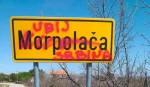"""Morpolača: Kod Šibenika grafiti sa ustaškim simbolima i natpisom """"Ubij Srbina"""", april 2020. Foto: Večernje novosti"""