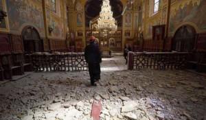 Srpska pravoslavna crkva Preobraženja Gospodnjeg u Zagrebu, april 2020. Foto: Večernje novosti