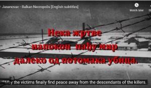 Srpska ramonda: Jasenovac – Nekropolis Balkana Foto: Srpska ramonda, screenshot