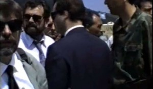 ARHIVA Otočac, razmena ratnih zarobljenika, RSK-Hr, 25.5.1993. Foto: Vimeo screenshot