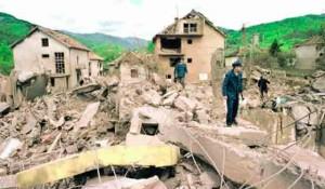 Surdulica: Razaranje u NATO bombardovanju 1999. Foto: Glas Srpske