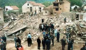 Surdulica: NATO razaranje 1999. Foto: RTRS, Vostok