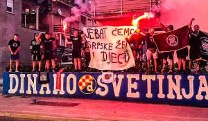 SNV: Zagrebačkim ulicama rulja mog života teče Foto: SNV, fotoreporter Nikola Šolić FB stranica
