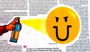Politika, 30.06.2020, Savo Štrbac: Grafiti mržnje priprema za popis