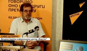 Sputnjik intervju: Srbi u Hrvatskoj – tihi egzodus od 1991 – Savo Štrbac, 30.6.2020. Foto: screenshot Youtube