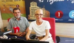 Magazin na Prvom: Neizvesni izbori u Hrvatskoj, Savo Štrbac, Ana Tomašević Foto: RTS, Radio Beograd 1