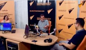 """Svet sa Sputnjikom: Srpsko-hrvatski odnosi četvrt veka od """"Oluje"""", 27.7.2020. Foto:screenshot"""