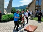 Drinić: Odavanje pošte poginulim vojnicima Vojske Republike Srpske, 7.8.2020. Foto: DIC Veritas