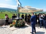 Pomen kraj spomen-krsta na Petrovačkoj cesti, 7.8.2020 Foto: DIC Veritas