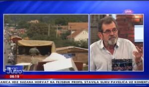 """Štrbac za Pink: Cilj """"Oluje"""" je bio prisilno i trajno isterivanje Srba sa teritorije Krajine, 2.8.2020. Foto: Pink.tv, peintscreen"""