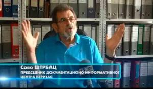 Savo Štrbac, Veritas za RTK: Zašto Oluja i dalje traje? Foto: RTK, screenshot