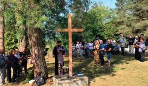 Glina, Gornje Selište, pomen za 145 srpskih žrtava Foto: RTRS