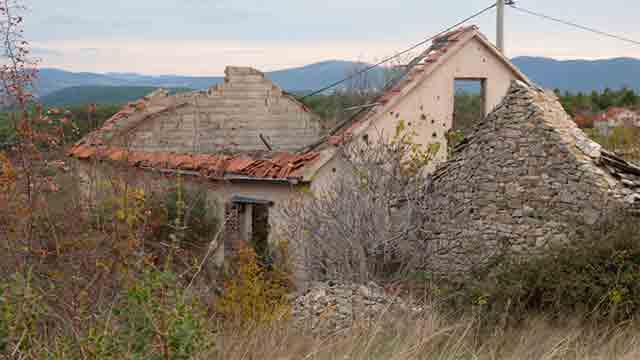 Kuća u Velikoj Glavi, Skradin Foto: Salvica Čedić, Politika