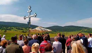 Pomen na Petrovačkoj cesti, 7.8.2020. Foto: ATV
