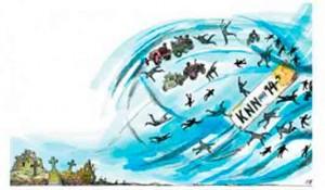 Knin, ilustracija Foto: Politika, Novica Kocić