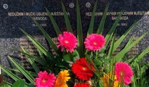 Komemoracija srpskim žrtvama u Varivodama Foto: javniservis.net