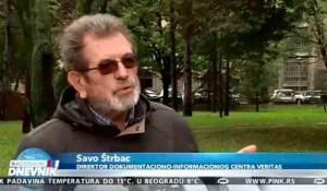 Nacionalni dnevnk - Savo Štrbac o tužbi HSK protiv Dane Budisavljević - suđenje umetnosti, 13.10.2020. Foto: screenshot