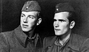 Budimir Lončar (levo), mladi komunista Foto: Jutarnji list