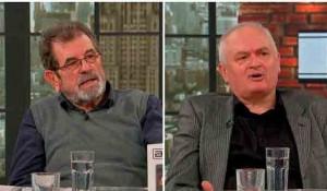 Savo Štrbac i dr Momilo Diklić, 18.11.2020. Foto: TV Pink Printscreen