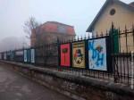 "Išarani plakati na Botaničkom vrtu u Zagrebu: ""Smrt srbo-zločincima"", 18.11.2020. Foto: Index.hr, HINA"