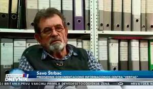 Savo Štrbac o ubistvu porodice Zec u Zagrebu za Nacionalni dnevnik, 8.12.2020. Foto: screenshot