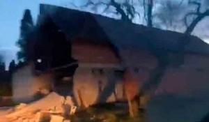 Majske Poljane kod Gline, jedna od ruševina Foto: screenshot