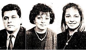 Mihajlo, Marija i Aleksandra Zec Foto: Politika
