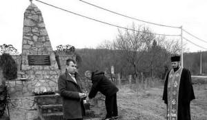 Pomen ubijenim Srbima u Gornjim Grahovljanima 2018. godine Foto: Portal Novosti