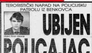 Slobodna Dalmacija 1990: Ubijen policajac Alavinja Foto: Sasa Mita