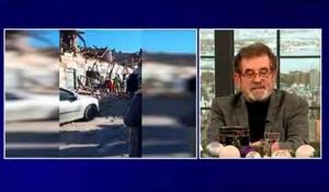 Savo Štrbac za Novo jutro o stanju Srba na Baniji posle zemljotresa, 4.1.2021. Foto; TV Pink, screenshot