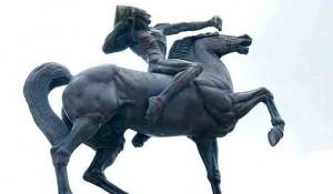 Ivan Meštrovič: Strelac, deo kompozicije Indijanci, Čikago Foto: Vikipedija, korisnik Ponor