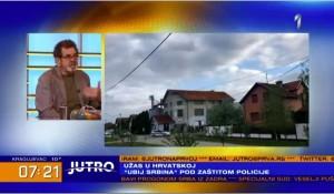 """Borovo:""""Ubij Srbina"""" pod zaštitom policije, 3.5.2021 Foto: screenshot"""