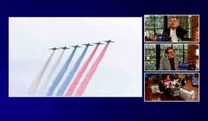 Novo jutro: Dan pobede i(li) Dan Evrope - Bojan Dimitrijević i Savo Štrbac, 9.5.2021. Foto: screenshot