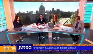 """Jutro - Provokacije iz Hrvatske: """"Podstiče se mržnja i održava se tenzija"""", 11.5.2021. Foto: TV Prva screenshot"""