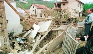 Razaranje Sudrulice i ubistvo 19 civila iz Republike Srpske Krajine, 31. 5.1999. Foto: Glas Srpske
