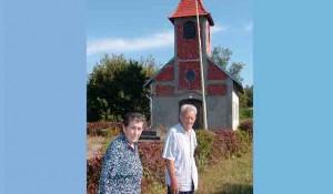 Rimokatolička crkva u Donjoj Bačugi – pokojni Stevan Slijepčević sa suprugom Miljom Foto: Portal Novosti