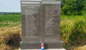 Šumetlica: Spomenik streljanim hrvatskim nacistima Foto: Portal Novosti