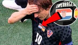EURO2020: Čak četiri utakmice igrali su Modrić i društvo s pogrešnim grbom Foto: Jutarnji list