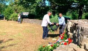 Banija: Komemoracija SNV-a srpskim žrtvama1942. u Banskom Grabovcu Foto: SNV, RTRS