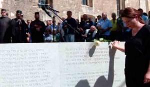 Spomenik Srbima ubijenim 1-3. jula 1941, Donja Suvaja, Lika Foto: Glas Srpske, SRNA