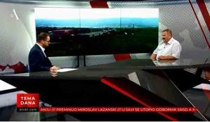 """Tema dana: Stradanje Srba u akciji """"Oluja"""" - Slobodan Perić Foto: ATV Bl, screenshoth"""