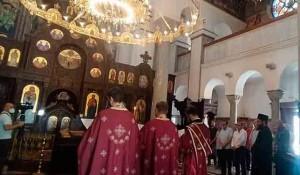 Banjaluka: Parastos u crkvi Hrista Spasa za stradale Krajišnike, 2021. Foto: RTRS