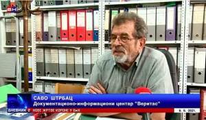 Tužilaštvo BiH neće suditi hrvatskim oficirima, 9.8.2021. Foto: NB TV, screenshot