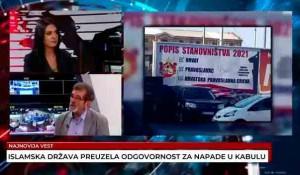 Savo Štrbac: Šta nosi predstojeći popis stanovništva u Hrvatskoj,27.8.2021. Foto: screenshot